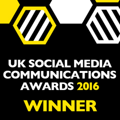uk social media communications awards 2016.