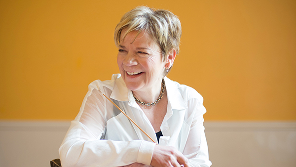 Marin Alsop. Photo by Adriane White