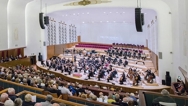 Royal Liverpool Philharmonic Orchestra. Photo by Mark McNulty