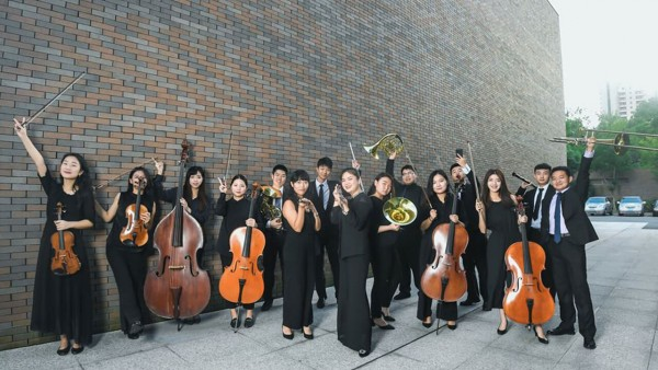 Shanghai Orchestra Academy group photo