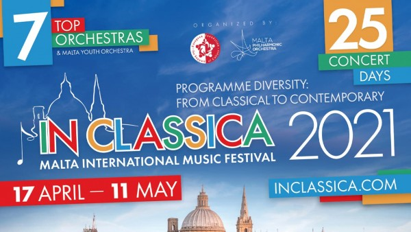 Malta International Music Festival 2021 poster