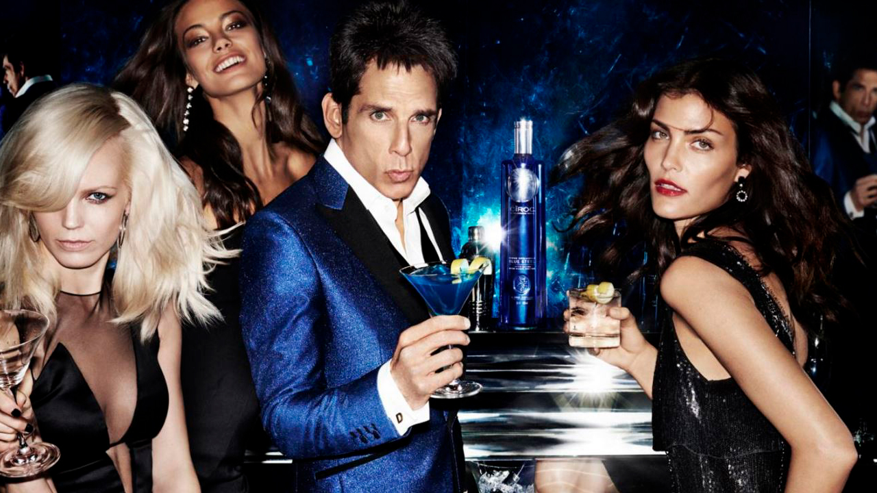Ciroc Derek Zoolander Blue Steel screen