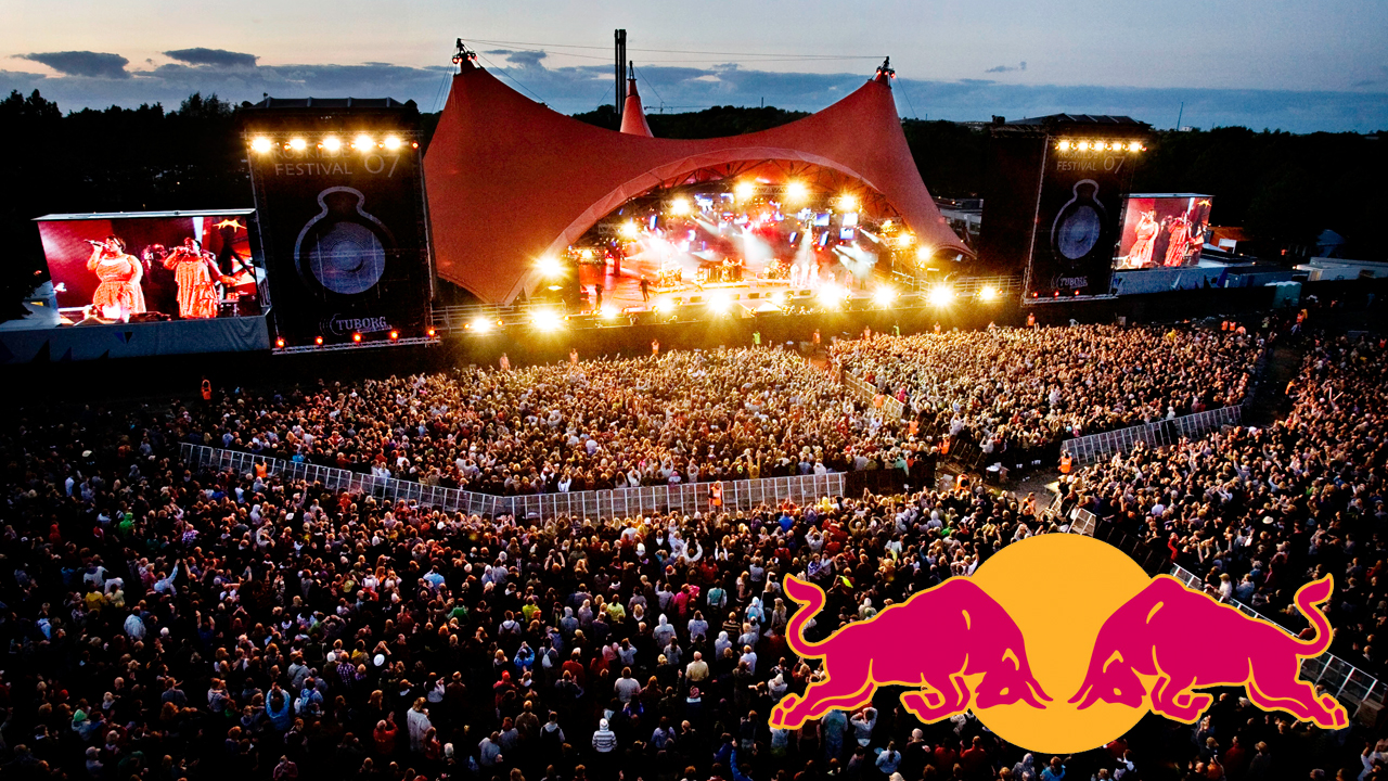 Consumer Brands Redbull Festivals Roskilde photo