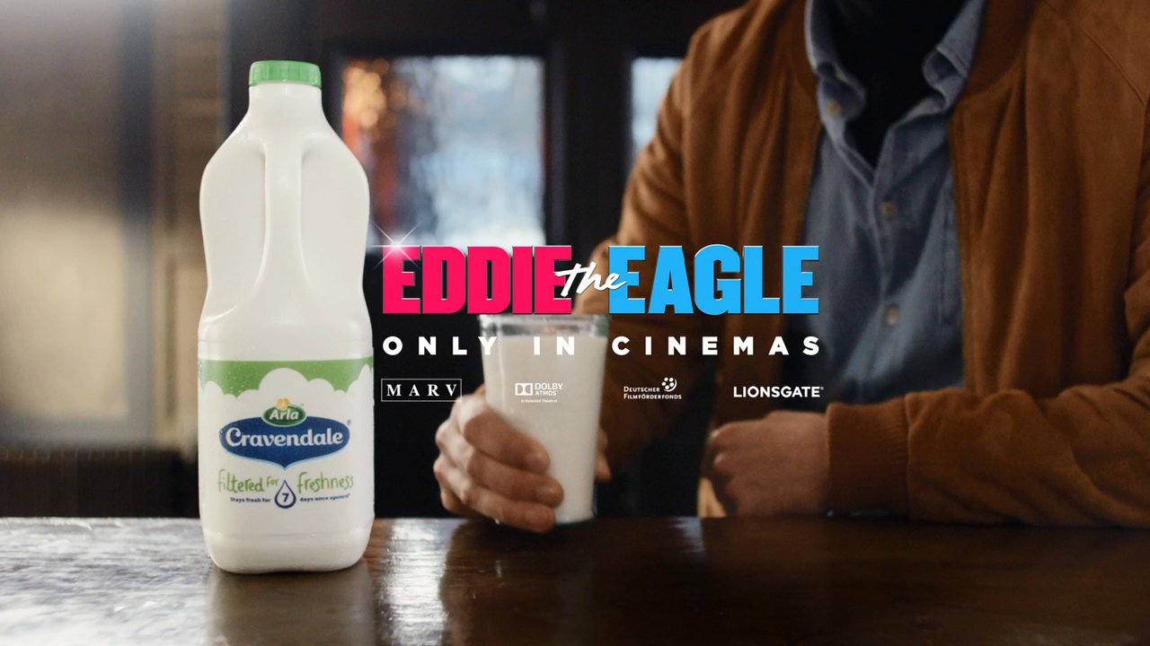 Cravendale & Eddie the Eagle poster image