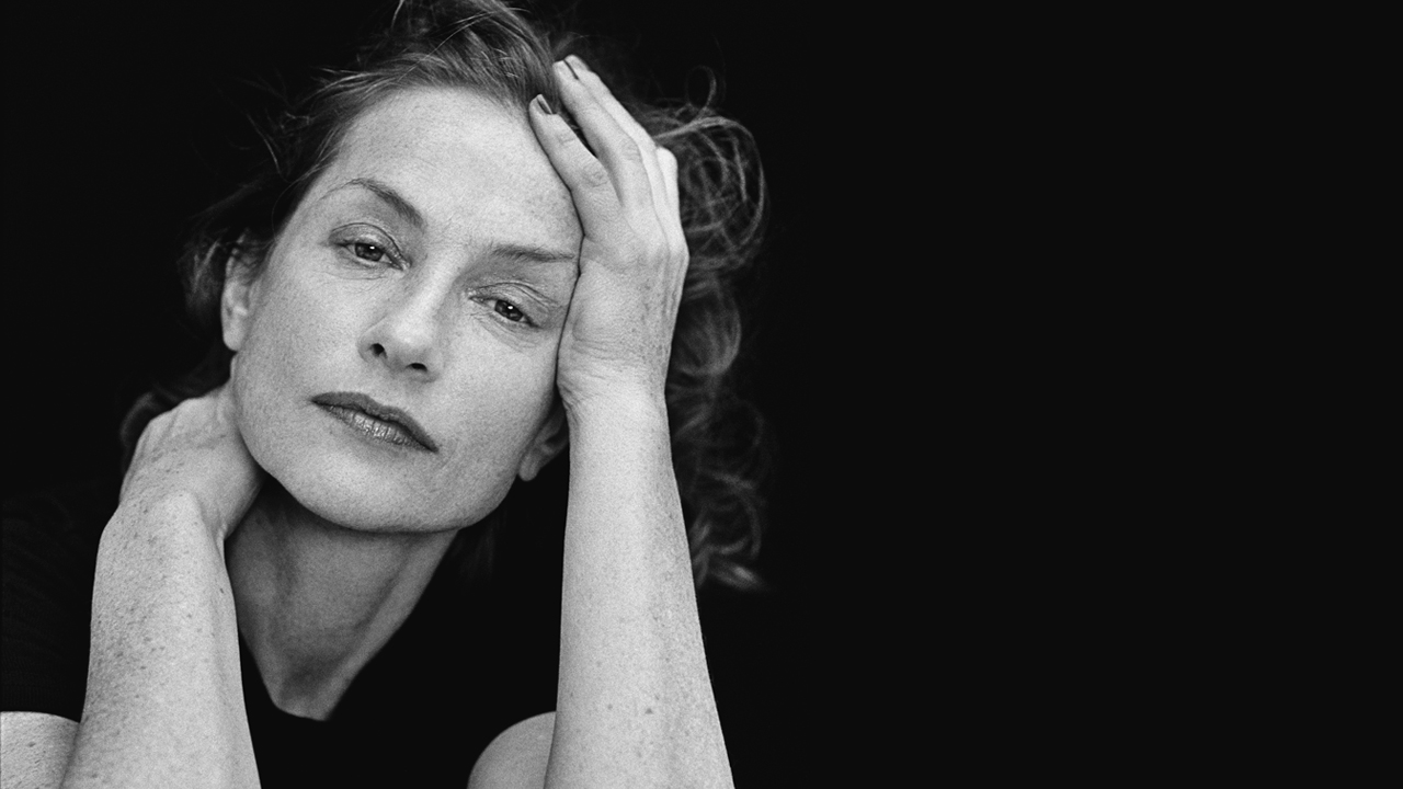 Isabelle Huppert Reads Sade, Piu Entertainment. Photo by Peter Lindbergh photo
