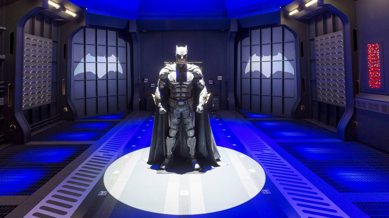 Experiential Event, The Justice League production shot