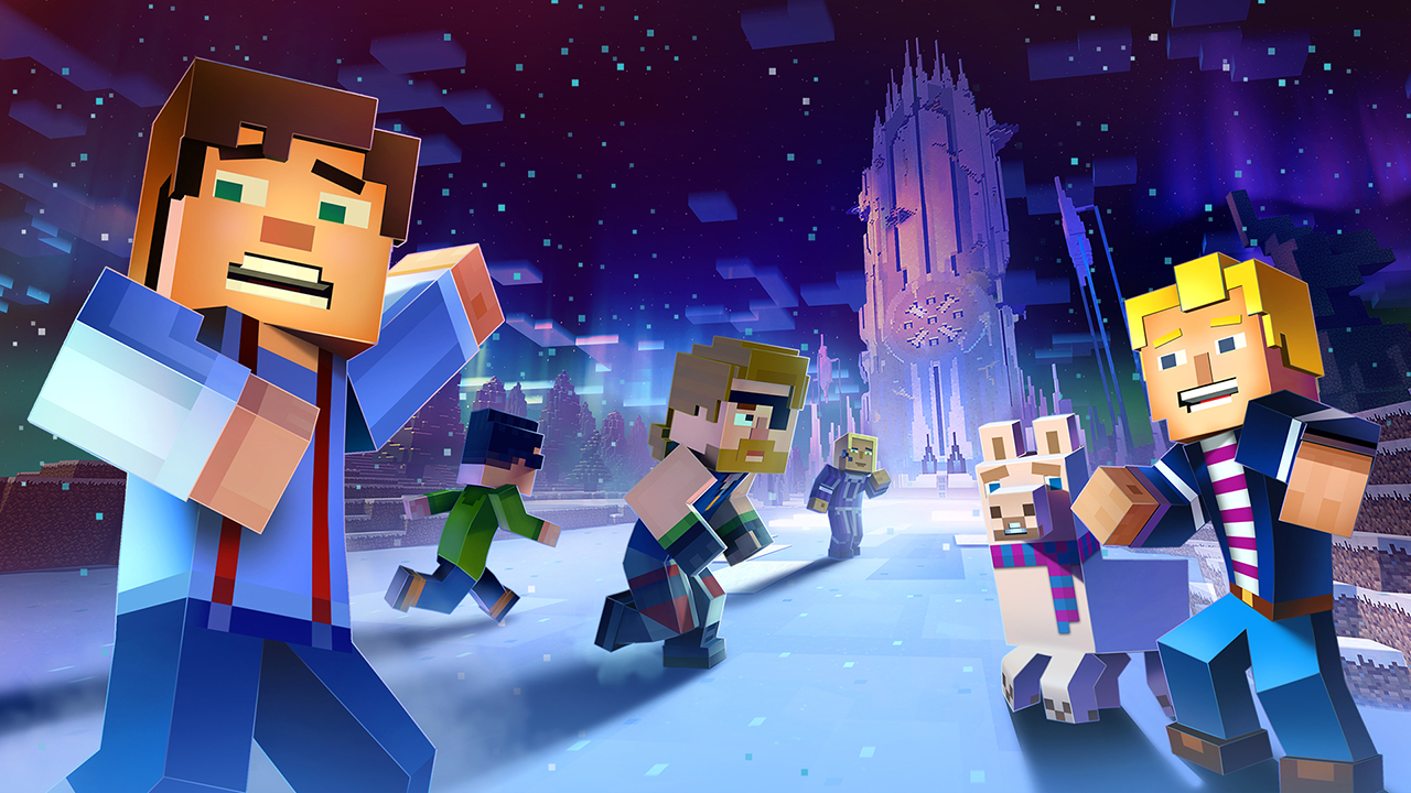 Minecraft: Story Mode game screen shot