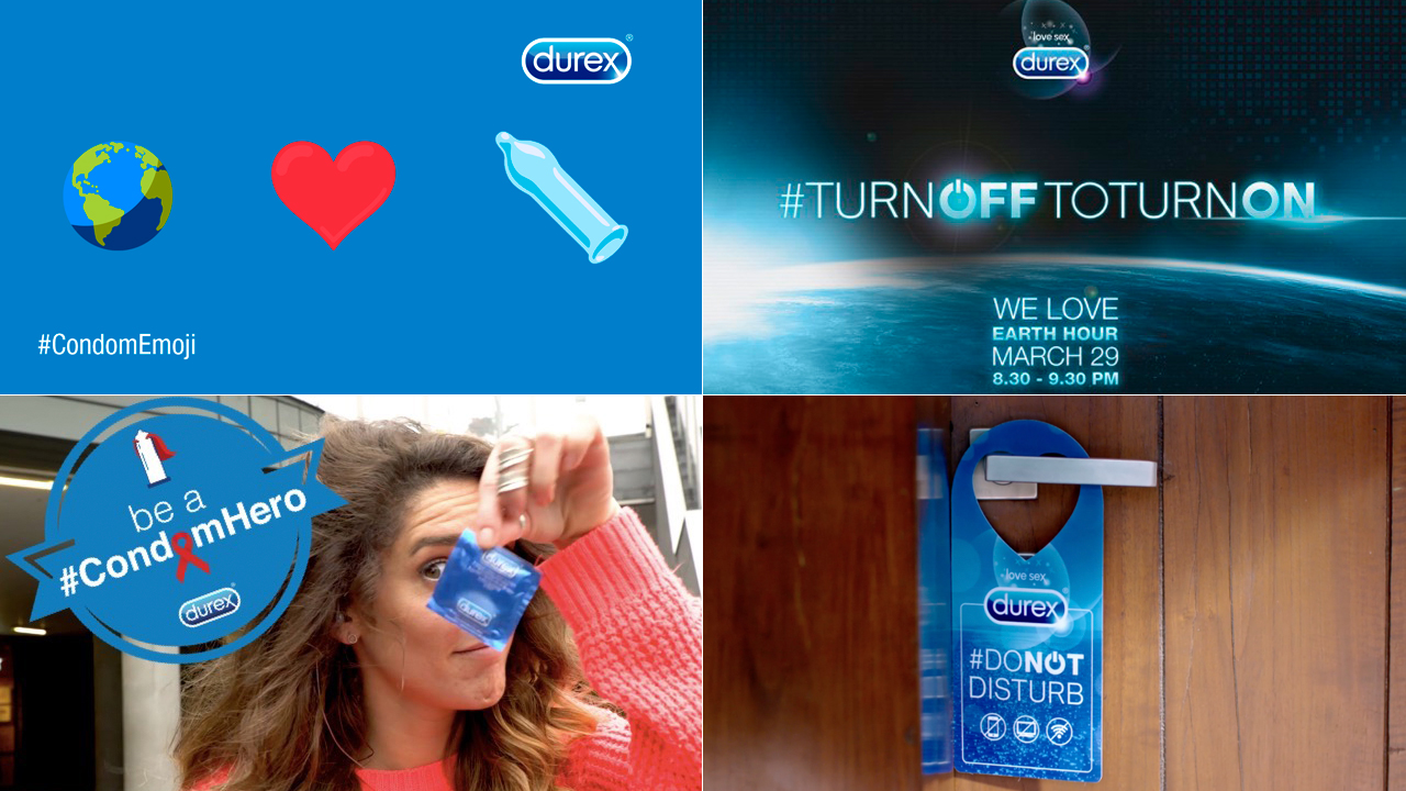 Various Durex project photos