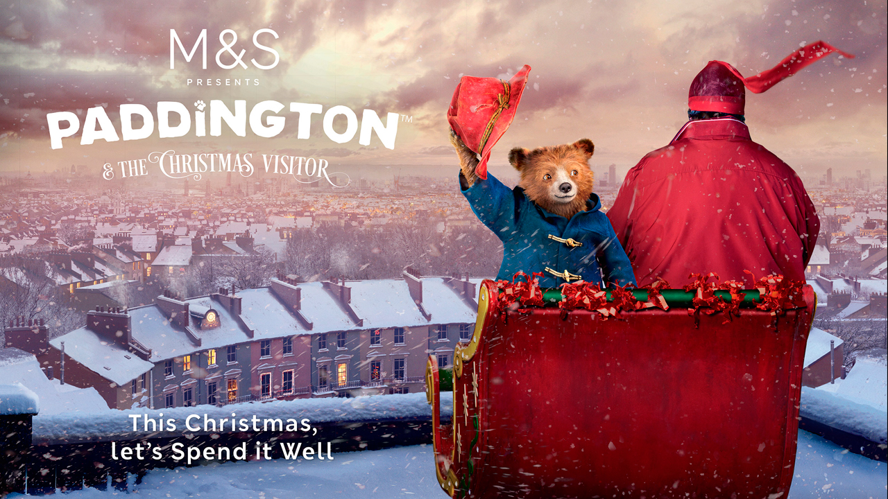 Premier M&S Paddington Christmas TV Ad video still