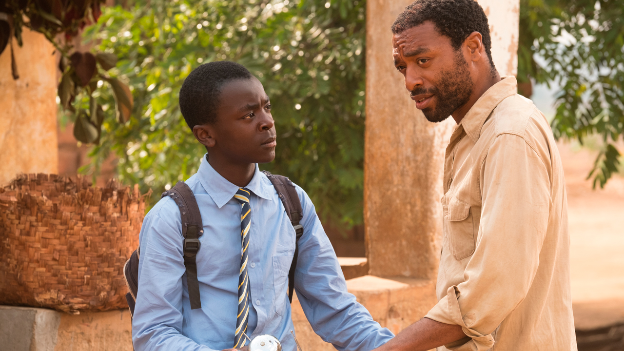 The Boy Who Harnessed the Wind production shot