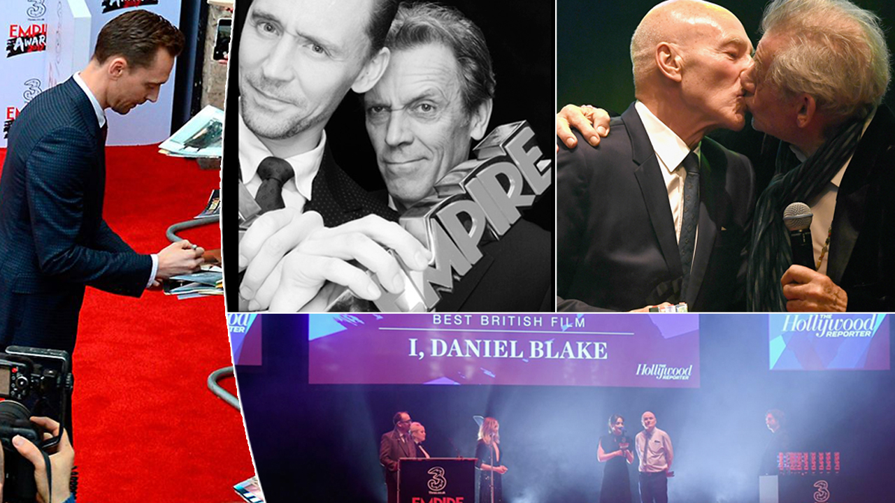 The Empire Awards photo collage