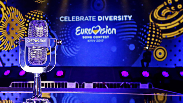 Photograph of the Eurovision 2017 trophy by Thomas Hanses
