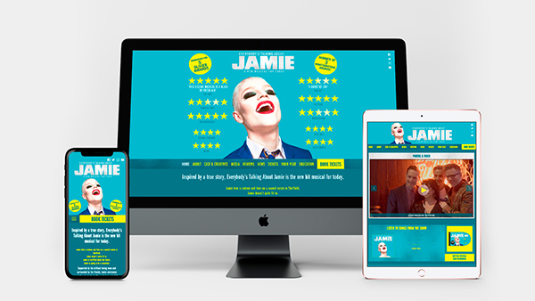 Everybodys talking about Jamie website device screen demos