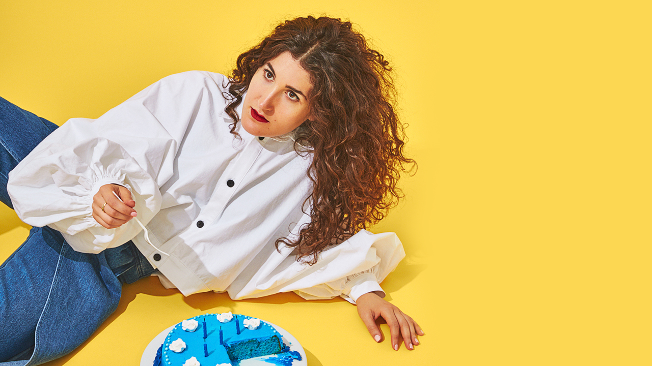 Kate Berlant production photo by Stephanie Gonot