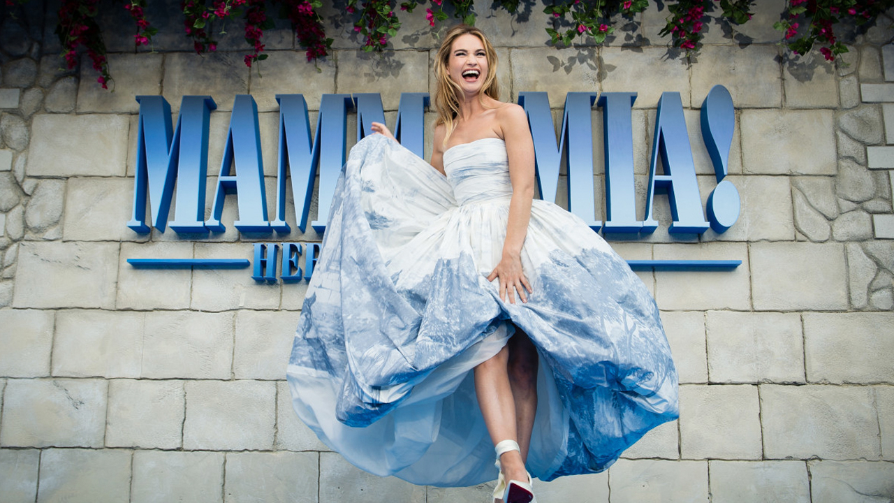 Mamma Mia! Here We Go Again  World Premiere with Lily James on stage