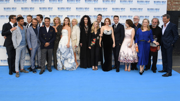 Mamma Mia! Here We Go Again  World Premiere