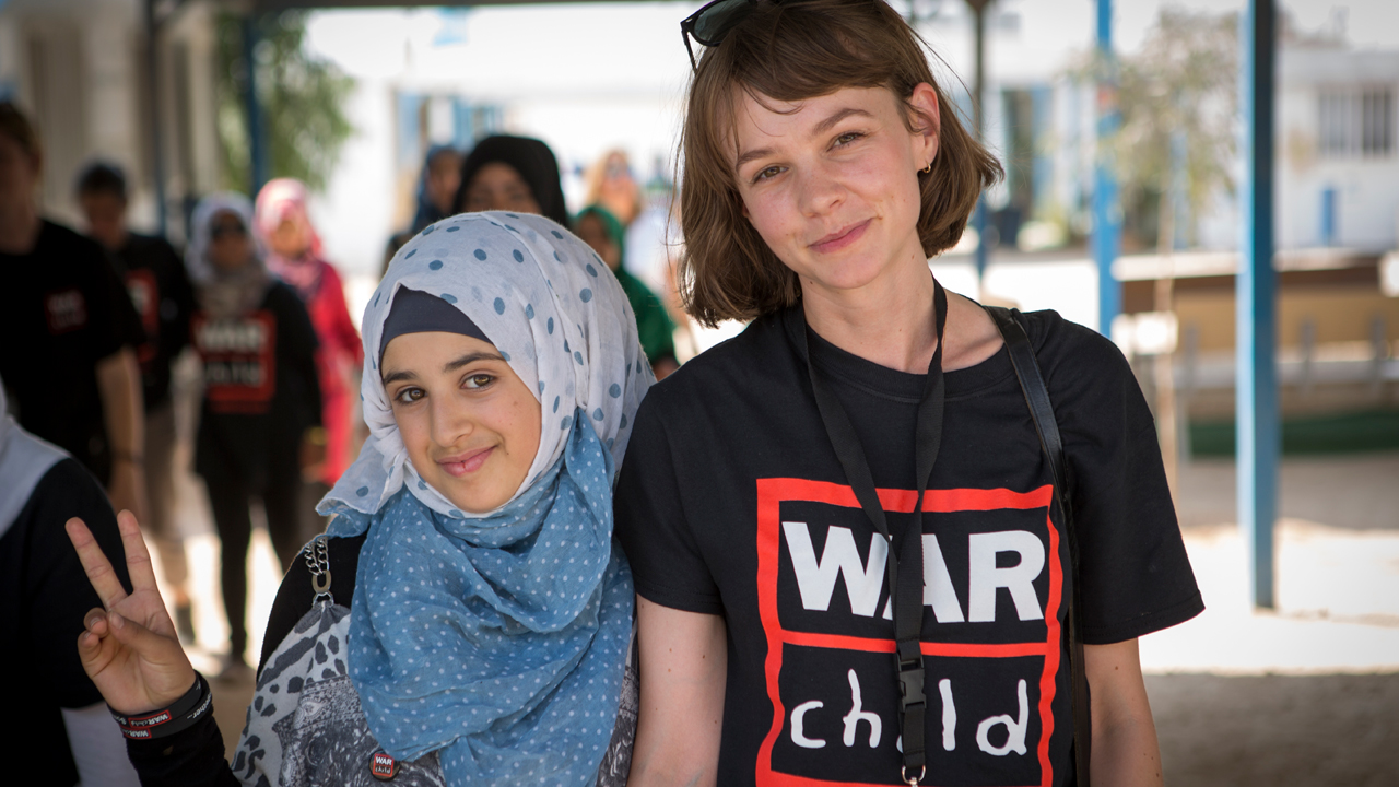 Carey Mulligan - War Child UK Global Ambassador photo by Louis Leeson