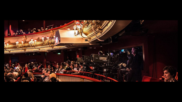 Internal Theatre with production cameras on display. Photo by Sim Canetty-Clarke