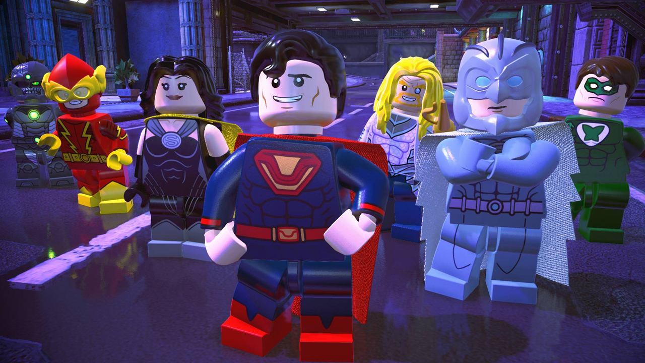 Warner Bros. LEGO DC Super-Villains production photo