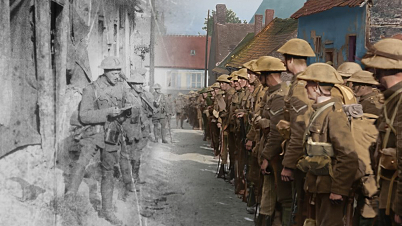 Peter Jackson's First World War film for 14-18 NOW imagery