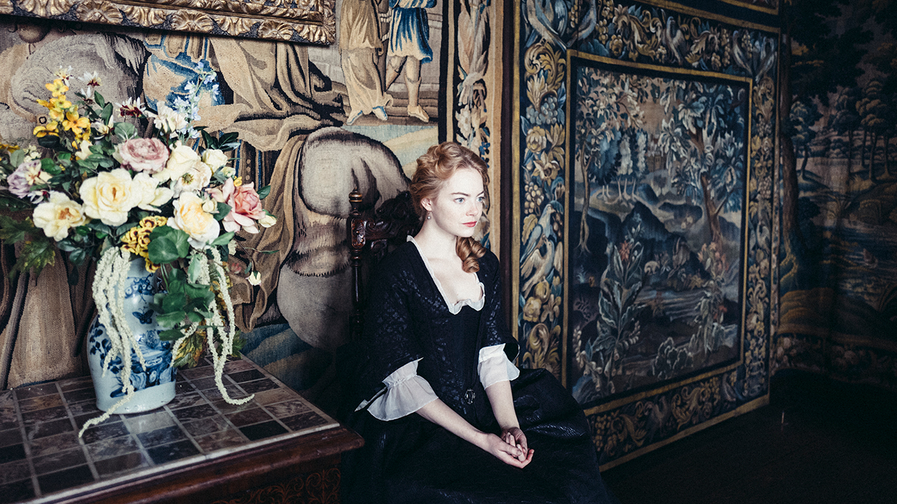 The Favourite production photo