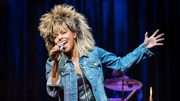 Adrienne Warren as Tina Turner. photo by Manuel Harlan