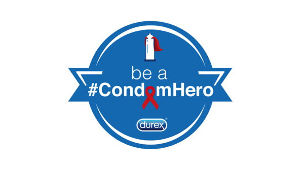 CondomHero World AIDS Day 2017 logo