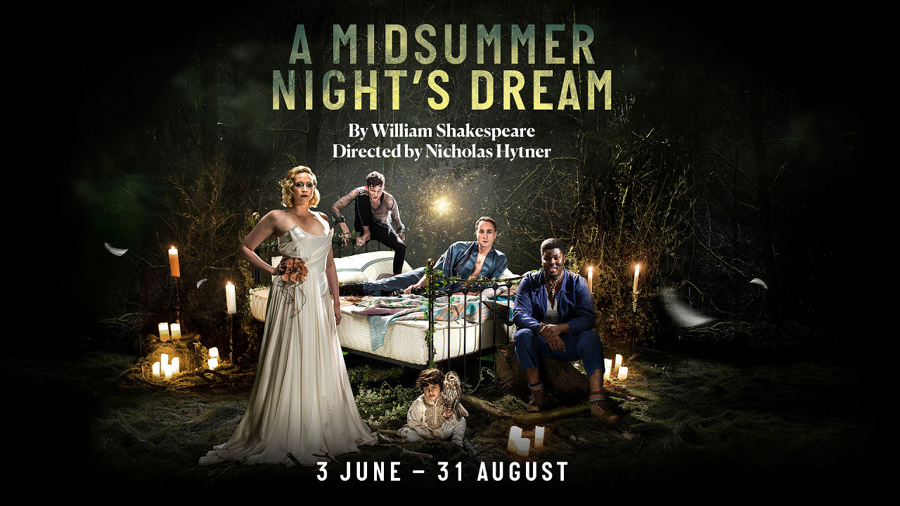 A Midsummer Night's Dream production poster