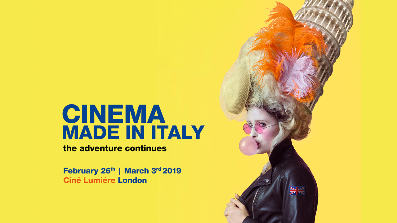 Cinema Made in Italy 2019 poster