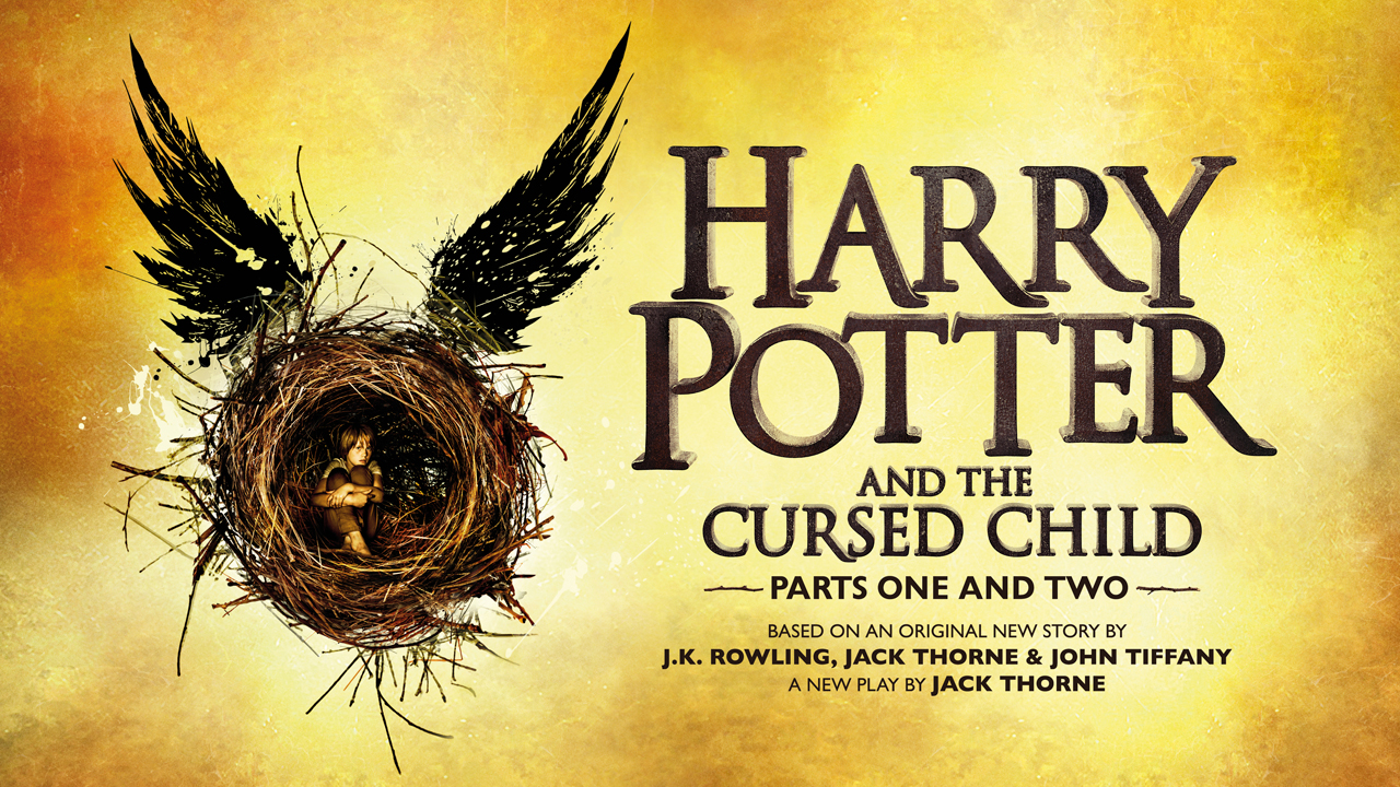 Harry Potter and the Cursed Child title artwork