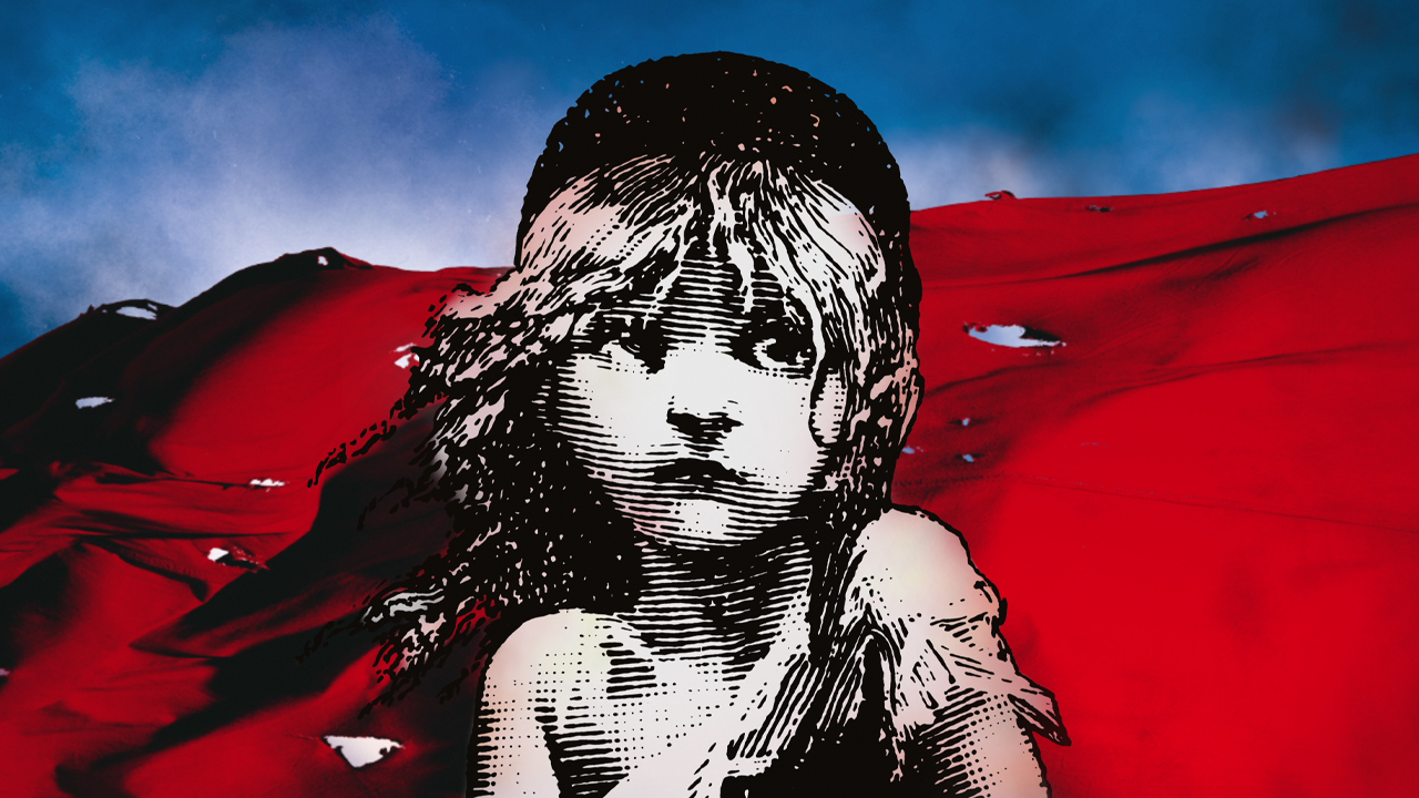 Les Misérables flag artwork
