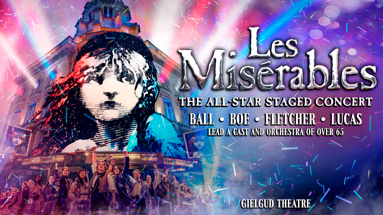 Les Misérables – The All Star Staged Concert poster