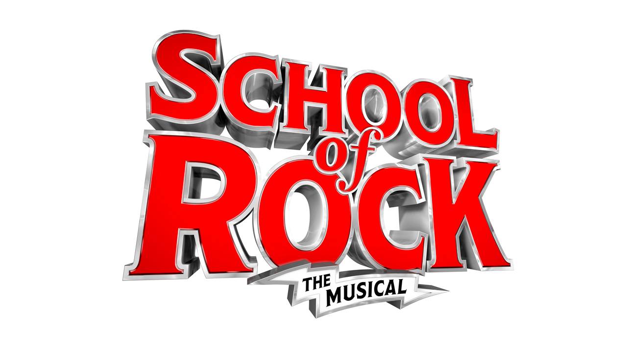 School of Rock The Musical logo