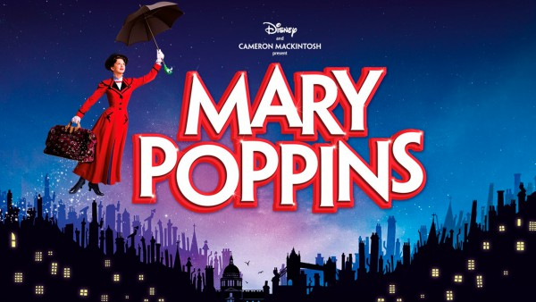Mary Poppins title artwork