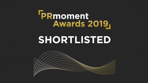 The PRMoment Awards 2019 shortlist title treatment