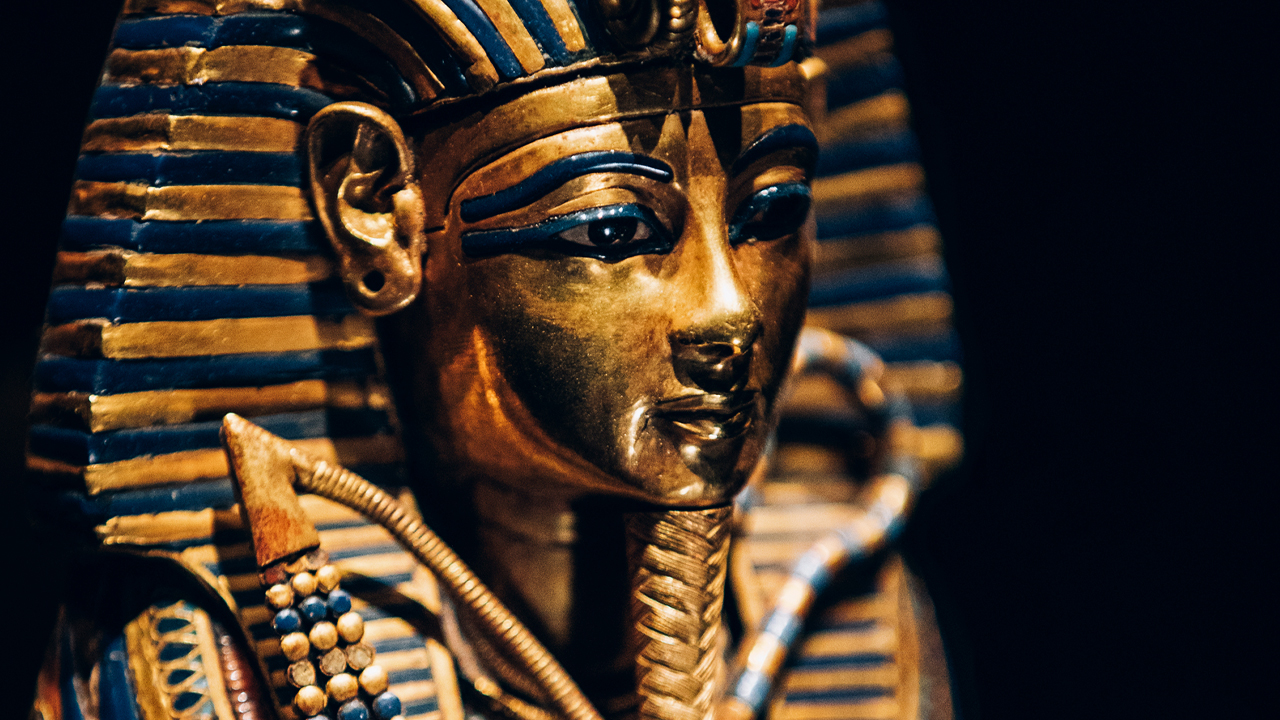 Tutankhamun: Treasures of the Golden Pharaoh close up