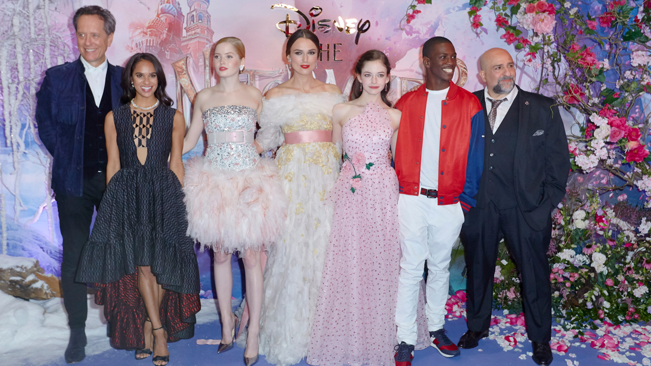 The Nutcracker and the Four Realms cast group shot