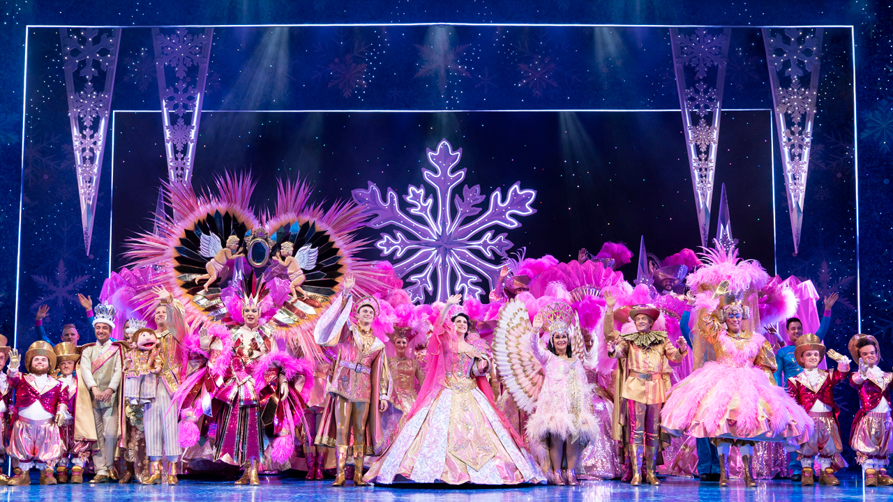 Snow White at The London Palladium - The Company. Photo Paul Coltas