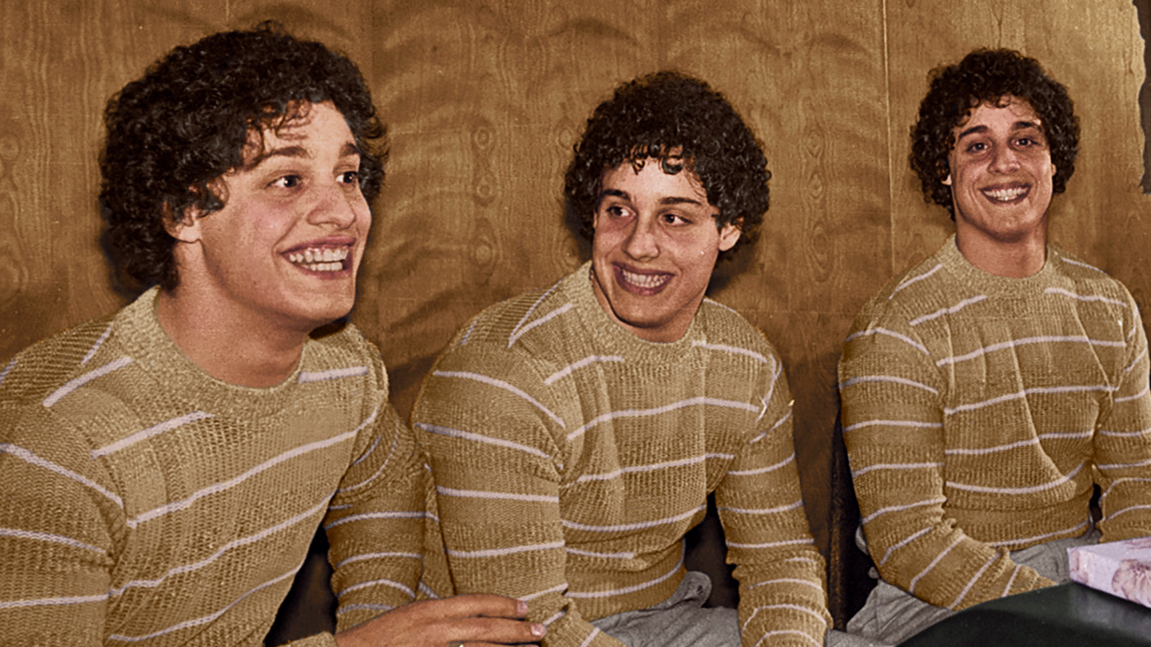 Three Identical Strangers production shot