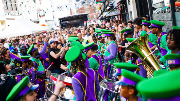 Street party for Ronnie Scott's 60th Anniversary