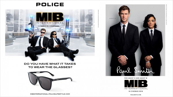 Men In Black: International poster montage