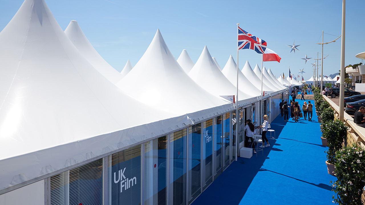 We Are UK Film at Cannes Film Festival external view
