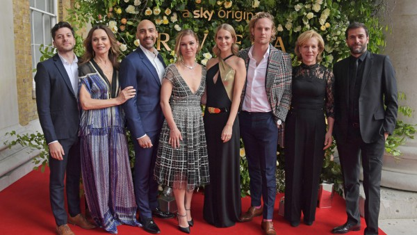 Sky Atlantic's Riviera on the red carpet