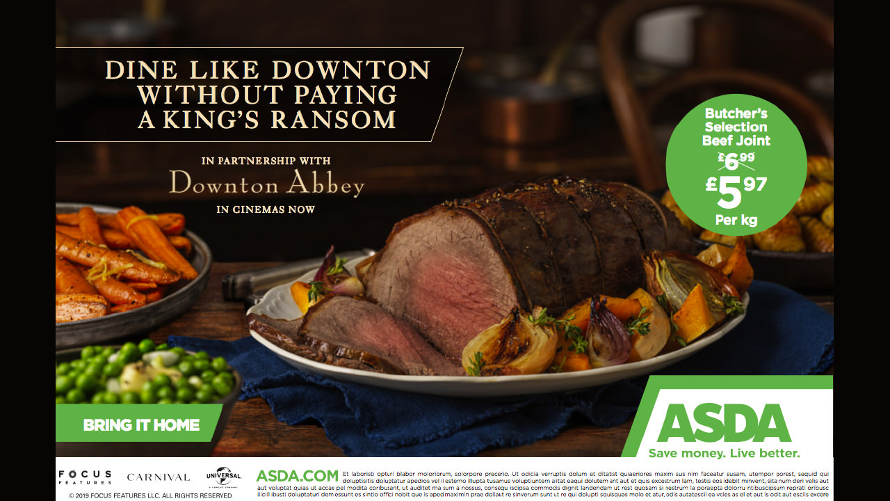 Downton Abbey - a multi partner campaign