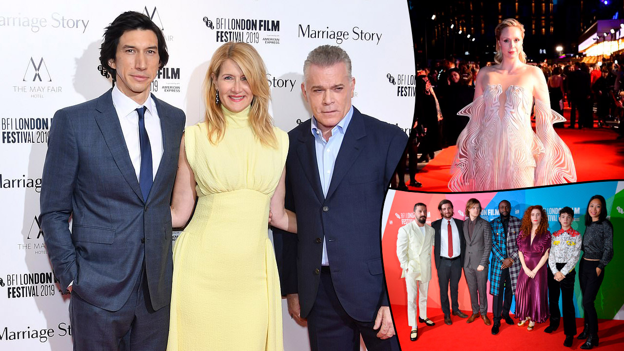 London Film Festival press photo montage