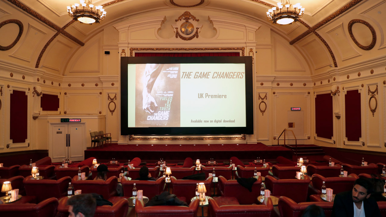 The Game Changers internal cinema view