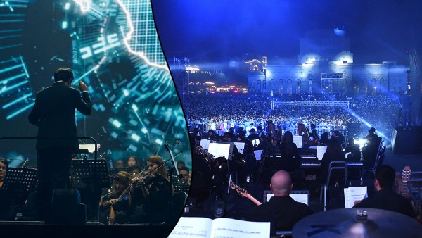 Armenian State Symphony Orchestra at the World Congress of Information Technology