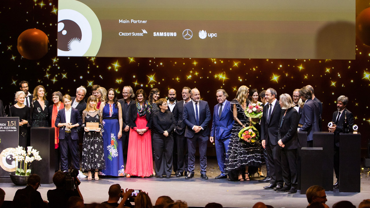 Zurich Film Festival 2019 on stage presentation