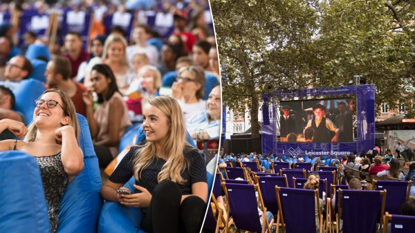 montage of Leicester Square Summer Screenings