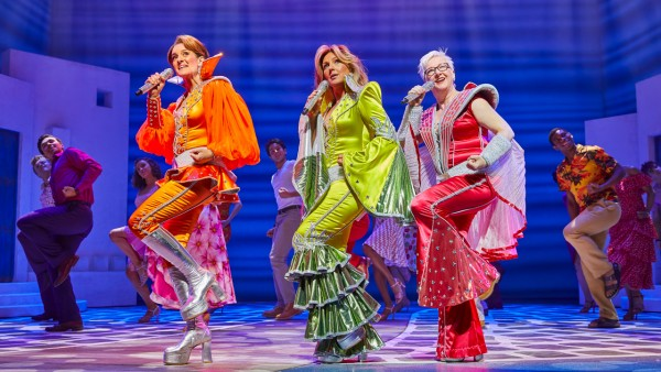 MAMMA MIA! production shot 2019